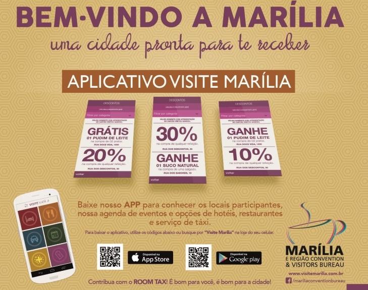 Aplicativo dos serviços de Marília
