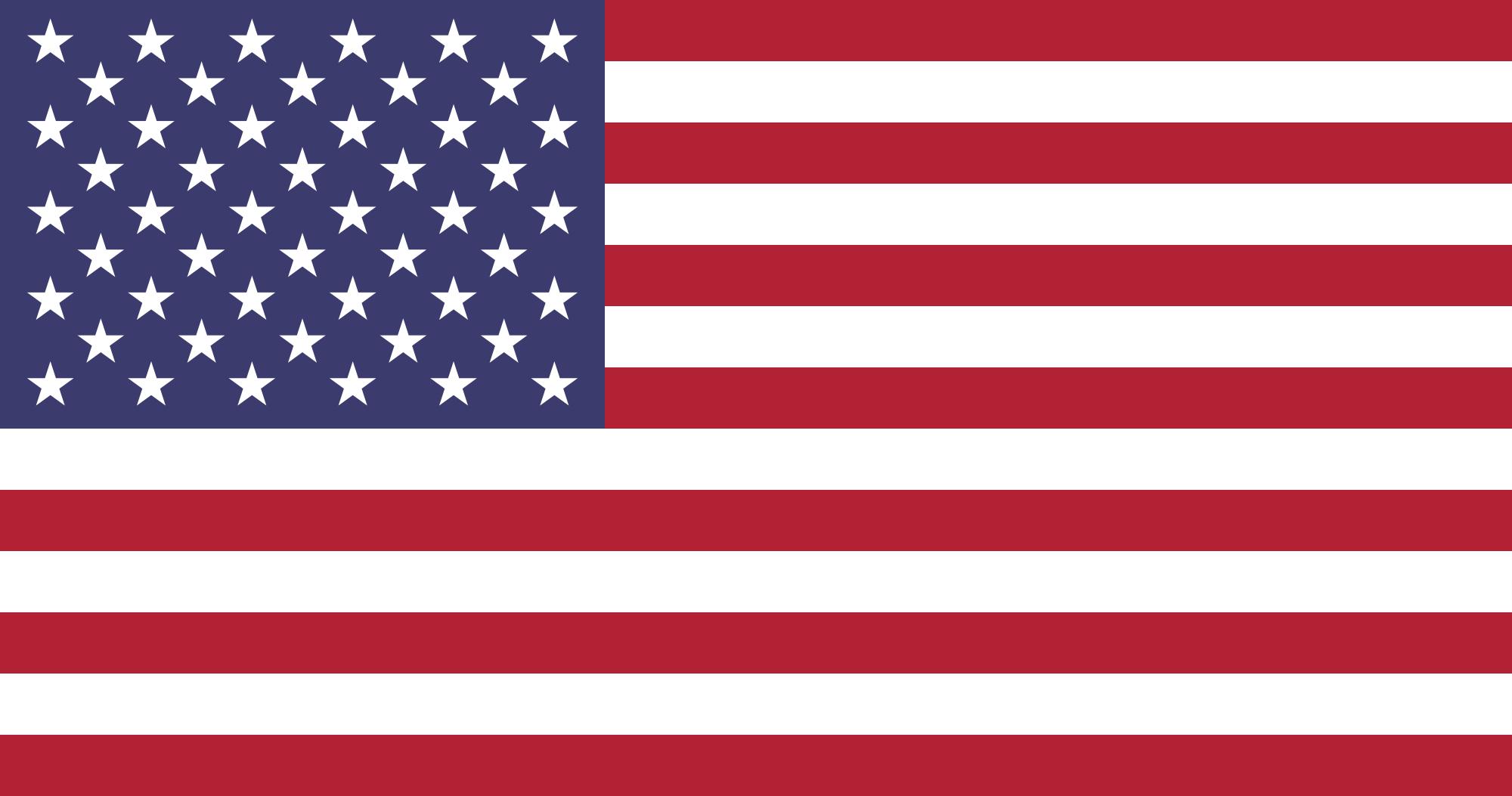 Mudar para Língua Inglesa- Bandeira do EUA